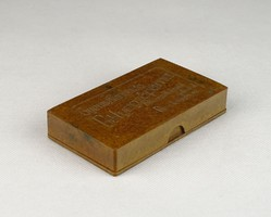 0U818 Régi gyermeknyomda bélyegzőpárna doboza