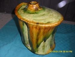Zsolnay nagy amorf  pirogránit váza