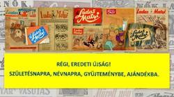 1989 február 15  /  Ludas Matyi  /  SZÜLETÉSNAPRA RÉGI EREDETI ÚJSÁG Szs.:  7302