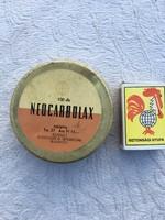 Neocarbolax gyógyszeres fém doboz