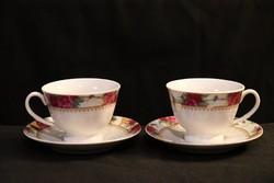 Seltau & Wieden 2 személyes vintage teás cappucinós szett