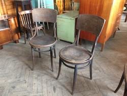 Régi vintage thonett székpár felújítandó thonet szék 2db