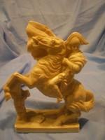 N19 Napóleon nagy 26 x 15cm lovas jelzett  szobor szépsége eladó