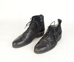 0U910 Antik jelzett férfi bőr cipő