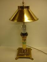 ORIENT EXPRESS réz lámpa gyönyörű állapotban.