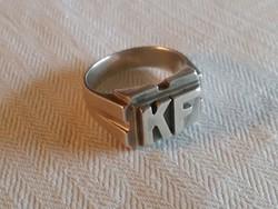 Monogramos gyűrű KF