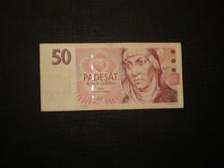 Csehország 50 korona 1997 Ritkább!