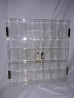 Mini parfüm kicsi tárgyak gyüjtemény praktikus tároló szekrény vitrin