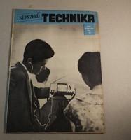 Régi újság Népszerű technika 1965 március