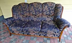 Alberto Nieri barok stilusú 195cm kanapé eladó