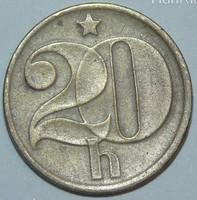 20 Haller - Csehszlovákia - 1976.