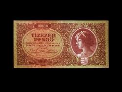 10 000 PENGŐ - 1945 - DÉZSMABÉLYEG NÉLKÜL - RITKA