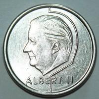 1 Frank - Belgium (Belgique) - 1998.