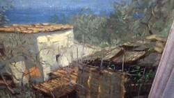 Festmény, olaj-vászon
