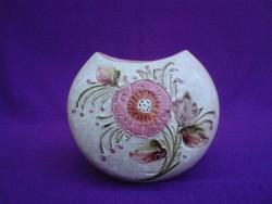 Virág mintás kerámia váza