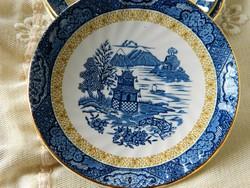 Angol Royal Tudor csésze alátét kistányér 2 db, kiegészítés