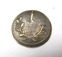 1 spiel münz, 1700-as évek.