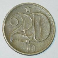 20 Haller - Csehszlovákia - 1974.