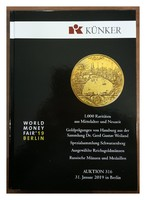 KÜNKER 316. Aukció Berlin 2019 árverési katalógus