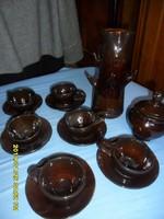 Doroginé H. Anna kávés  kerámia készlet