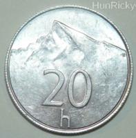 20 Halier - Szlovákia - 1993.