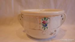 Antik , alján is festett porcelán füles csésze