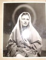 Szörényi Éva a Mária nővérben régi reklám fotó