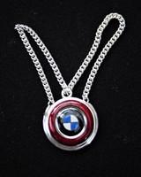BMW ezüst kulcstartó