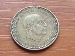 SPANYOL 1 PESETA 1966
