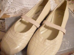 CLARKS drapp balerínacipő