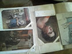 84 képeslapból álló régi gyűjtemény