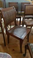 Trópusi fából készült székek