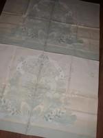 Barokk mintás ágyneműgarnitúra-fodros lepedővel