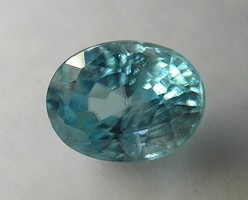 Oval faceted zircon 1.26 ct (12)