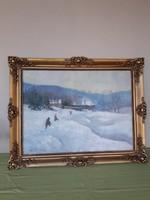 Zórád Géza festmény