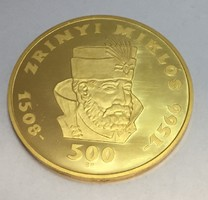 Zrínyi 500Forint arany