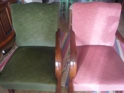 Retró fotel párban