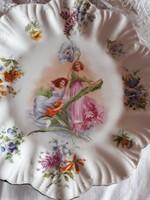 Szecessziós porcelán tányér