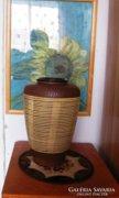 Jelzett  Kerámia váza 33 cm,