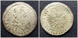 Lipót ezüst 1 krajcár 1699 (id1595)