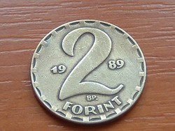 MAGYAR NÉPKÖZTÁRSASÁG 2 FORINT 1989