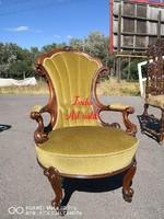 Csodaszép antik barokk fotel!