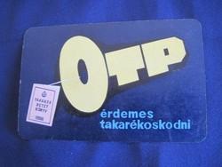 1964. Kártyanaptár - OTP 2.