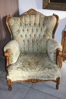 Warrings antik füles fotel 2