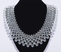 Hegyikristály féldrágakő nyaklánc