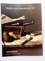 Sothebys : Modern és kortárs  árverési katalógus 1998