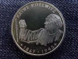 Käthe Kollwitz ezüst emlék 10 Márka 1992 (id5738)