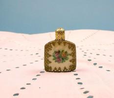 ANTIK parfümös üveg GOBELINNEL