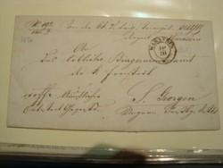 EX offo levél WARASDIN- szép bélyegek