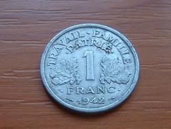 FRANCIA 1 FRANK 1942 VICHY